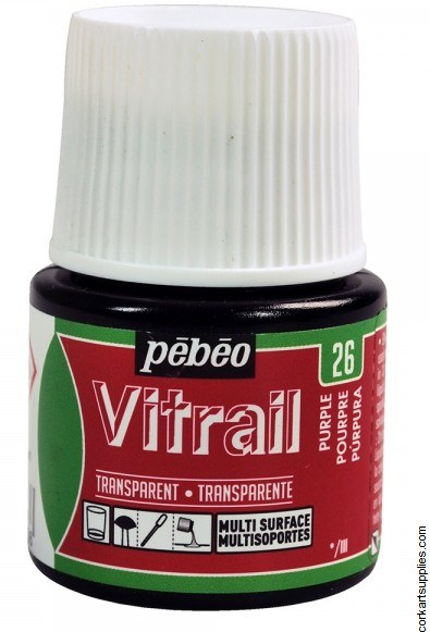 Vitrail 45ml Transparent 26 Purple
