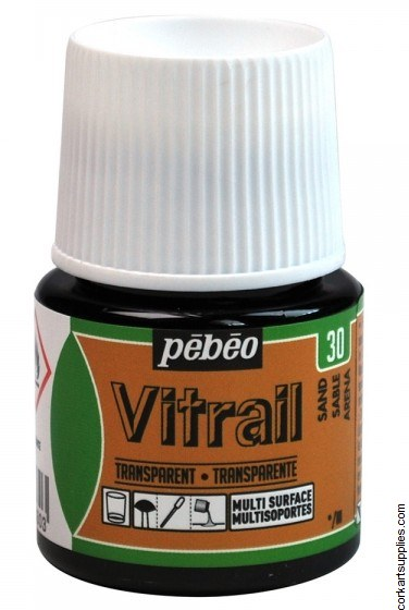 Vitrail 45ml Transparent 30 Sand