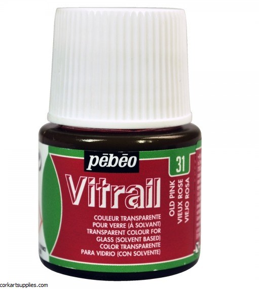 Vitrail 45ml Transparent 31 Pink Old