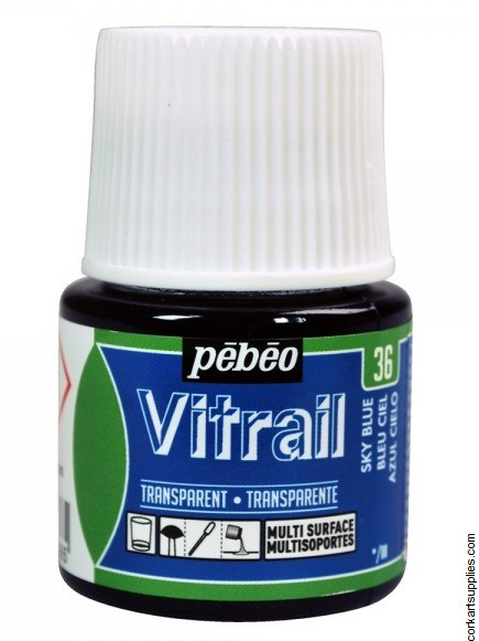 Vitrail 45ml Transparent 36 Sky Blue