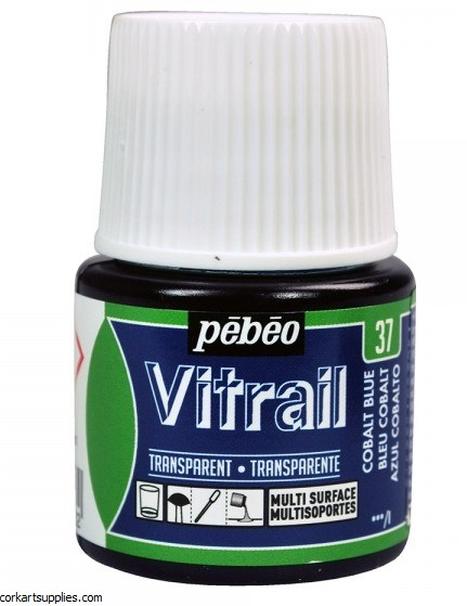 Vitrail 45ml Transparent 37 Blue Cobalt