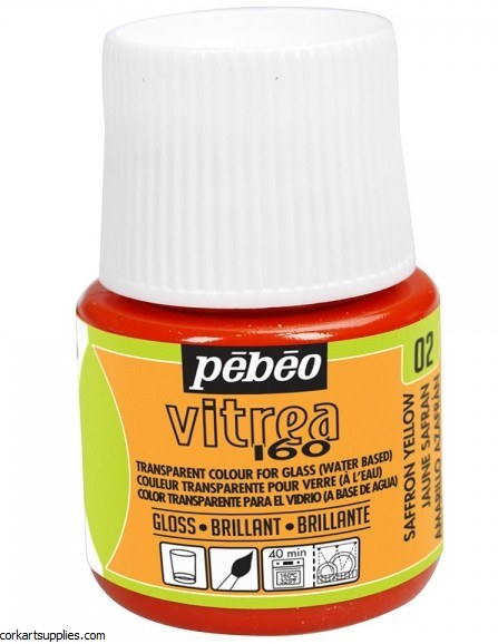 Vitrea 160 Glossy 45 Ml Saffron Yel