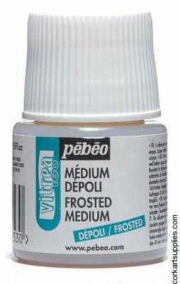 Pebeo 45ml Vitrea160 Frost Med