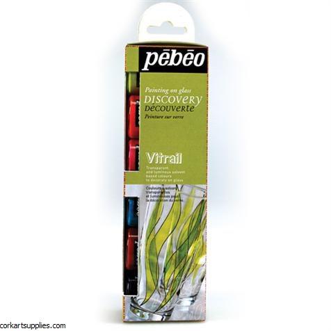 Pebeo Vitrail Transparent 6pk