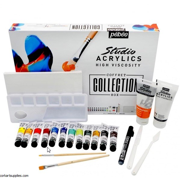 Pebeo Acrylic Collection Set