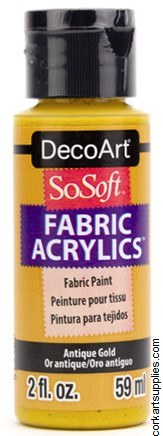DecoArt SoSoft 59ml Antique Gold
