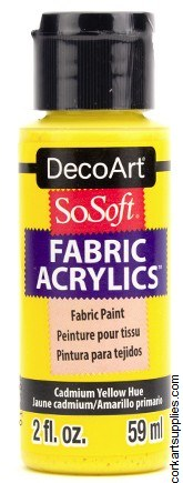 DecoArt SoSoft 59ml Yellow Cadmium
