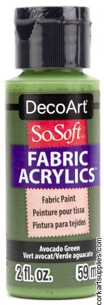 DecoArt SoSoft 59ml Green Avocado