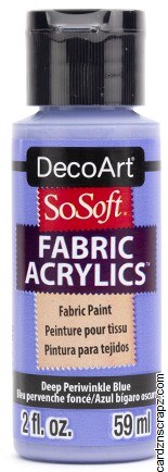DecoArt SoSoft 59ml Blue Periwinkle
