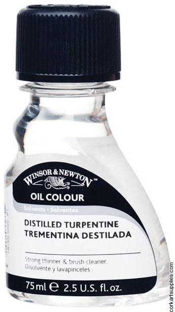 Winsor & Newton 75ml English Distilled Turpentine