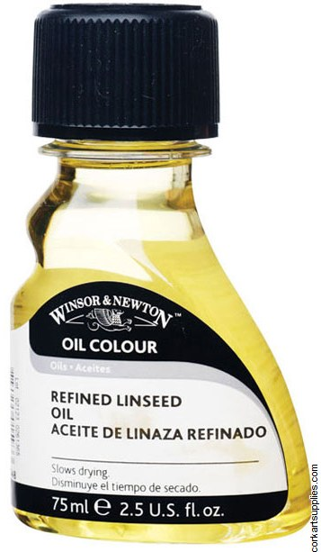 Winsor & Newton 75ml Linseed Oil Refined