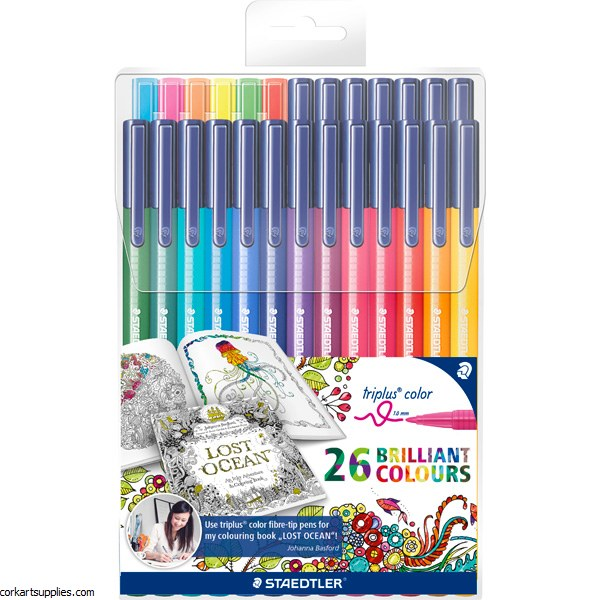 Staedtler Triplus Color Marker 1mm Set 26pk