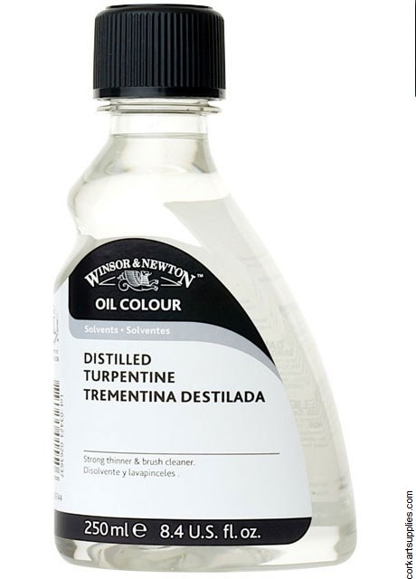 Winsor & Newton 250ml English Distilled Turpentine