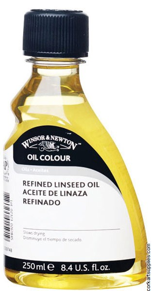 Winsor & Newton 250ml Linseed Oil Refined