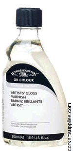 Winsor & Newton 500ml Artists Gloss Varnish
