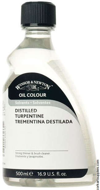 Winsor & Newton 500ml English Distilled Turpentine