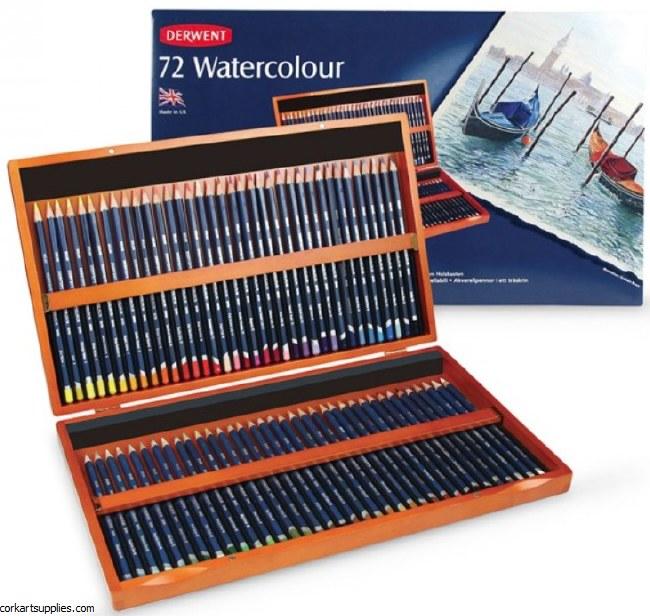 Derwent Watercolour Pencil 72p