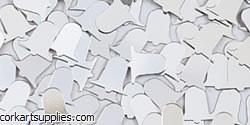 Confetti Bells Gilt Silver 14g