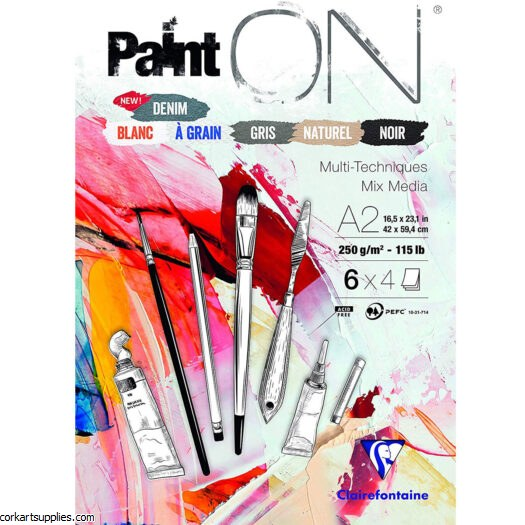 Multi Pad 250gm Assorted A2