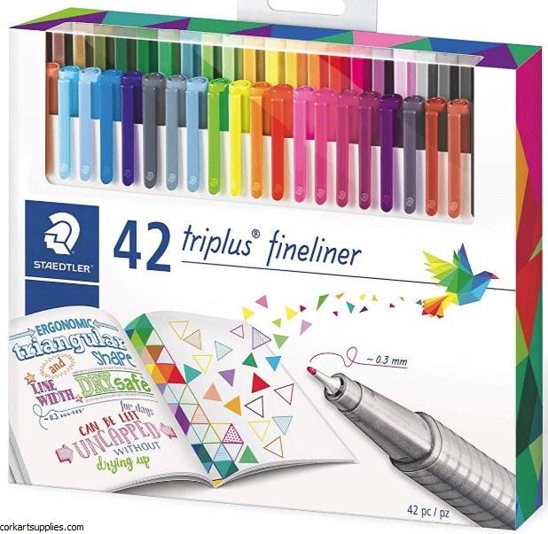 Staedtler Triplus Fineliner Marker 0.3mm Set 42pk