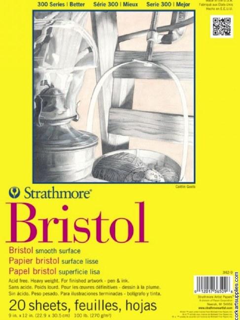 Strathmore Bristol 270g/100lb 9x12