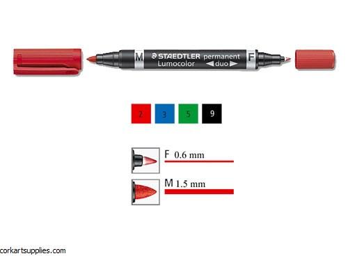 Lumocolor Perm Duo Red