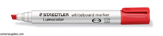 Whiteboard Marker Chisel Red