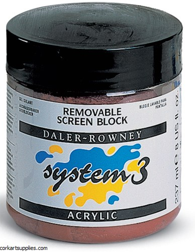 Daler Rowney 250ml System 3 Removable Screen Block