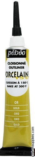 Porcelaine Outliner 20ml Gold