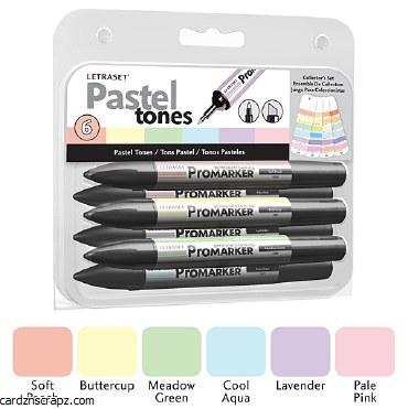 ProMarker Set Pastel Tone 6pk