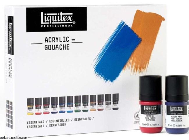 Liquitex A/G Primary 22ml 12pk