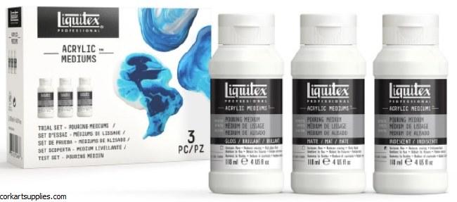 Liquitex Pouring Medium 3pk