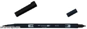 Tombow Dual Brush Marker Open Stock N15 Black