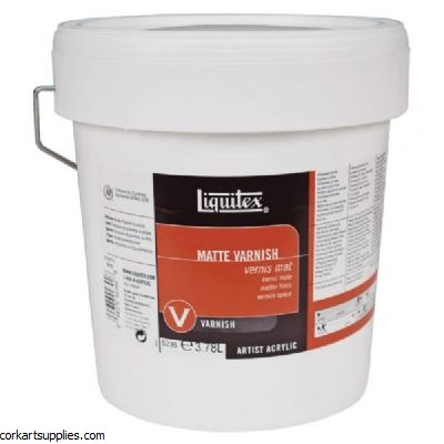 Liquitex Matt Varnish 3.79 Litre