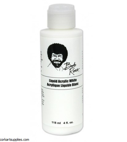 Bob Ross Liquid Acrylic White 118ml