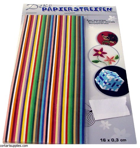 Quilling Strips 400pk