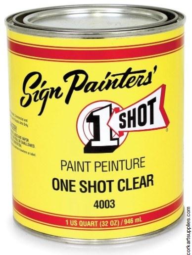 1 Shot Clear Gloss 4003 946ml
