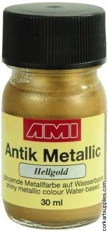 Metallic Paint 30ml - Light Gold