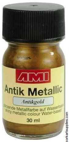 Metallic Paint 30ml - Gold
