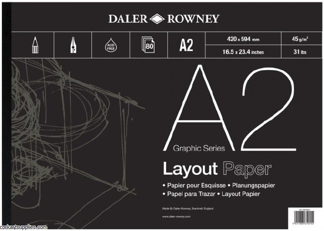 Layout Pad A2 Daler 45gm