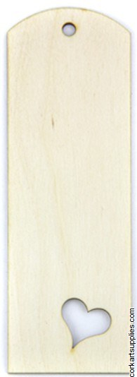 Wooden Bookmark 150x50x2mm