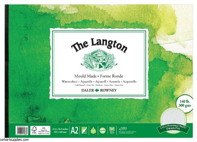 Langton Pad A2 Not 12 Page