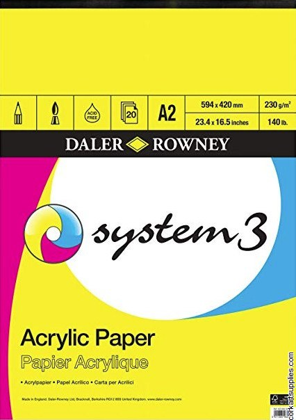System 3 Acrylic Pad A2^