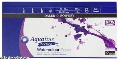 Aquafine Watercolour Pad 8x16
