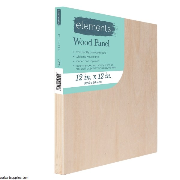 Wood Panel Elements 12x12