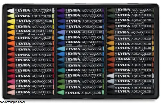 Lyra Aqua Colour Tin 48pk