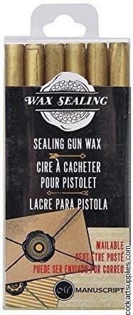 Sealing Wax Gun Stix Gold 6pk