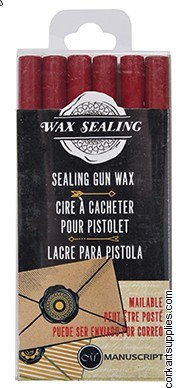 Sealing Wax Gun Stix Red 6pk