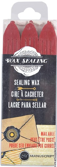 Sealing Wax 3 Pack Red