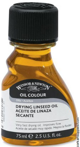 Winsor & Newton 75ml Drying Linseed Oil